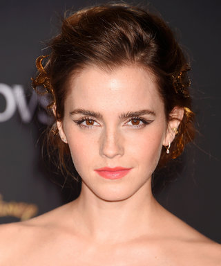 """Emma Watson's Hair and Makeup Puts the """"Beauty"""" in Beauty and the Beast"""