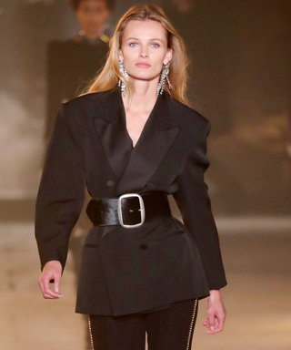 Isabel Marant's PFW Runway Makes a Case for Glamorous Suiting