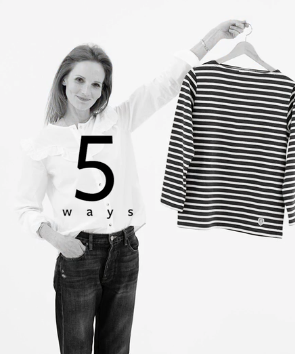 5 Ways To Style A Classic Breton Top