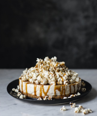 This Salted Butterscotch Popcorn Cheesecake Is The Dessert Of Dreams