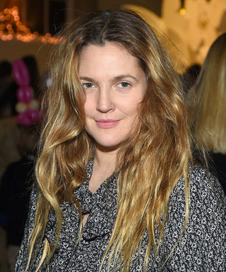 Drew Barrymore and Her Daughter Frankie Meet the Easter Bunny