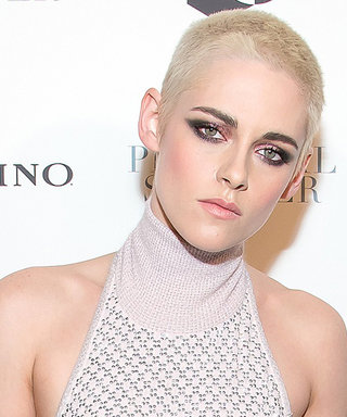 Kristen Stewart Channels Rihanna in This Sexy Glimmering Gown