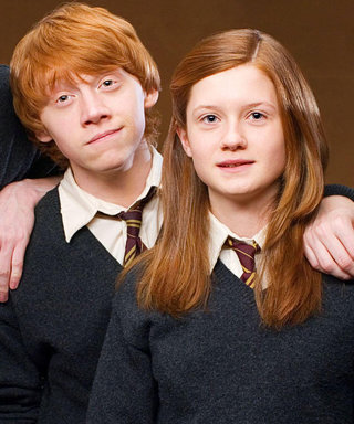 This Ron and Ginny Weasley Reunion Just Made Our Day