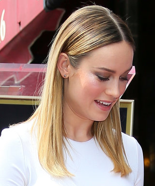 Brie Larson's Walk of Fame Look = Sweet and Ultra-Modern