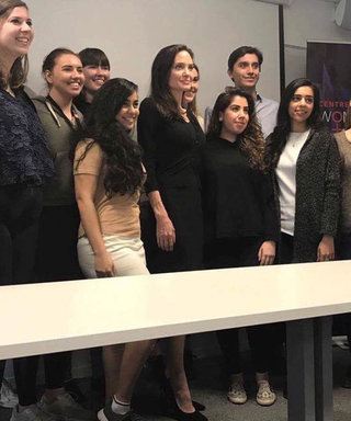 Professor Angelina Jolie Gives Her First Lecture At LSE On Women's Rights