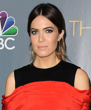 We're OBSESSED with Mandy Moore's Deconstructed Dress