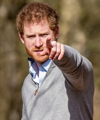 Prince Harry Is Basically Sleeping Beauty's Prince in This Forest