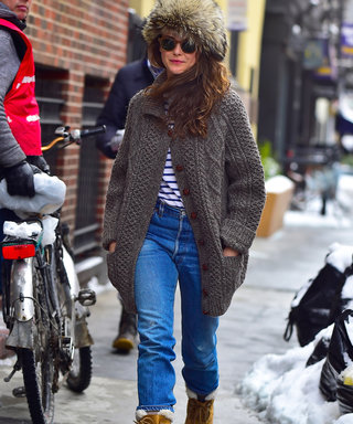 Keri Russell Makes Trudging Through Snowy Streets a Sexy Affair