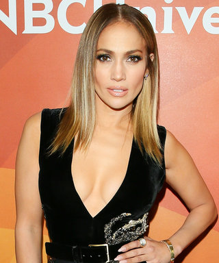 J.Lo's Thigh-High Slit Is Not for the Faint of Heart