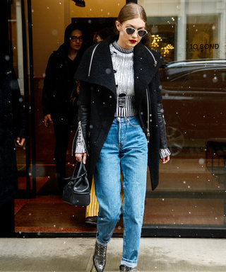 Where to Shop the Exact Cuffed Denim Looks Celebrities Are Wearing