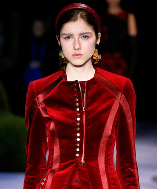 How to Wear Fashion Week's Head-to-Toe Red Trend IRL