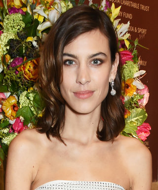 Here's Alexa Chung's Take on the Off-The-Shoulder Trend