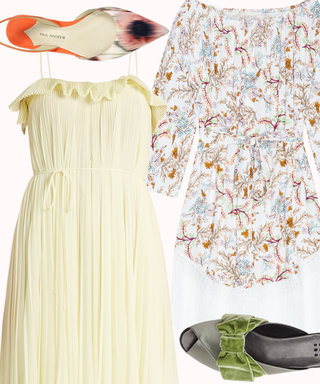 Dress and Shoe Combos That'll Have You Winning the Easter Egg Hunt