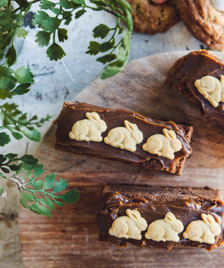 Your Easter Brunch Needs These Nutella-Laced Bunnies on a Log