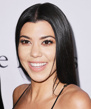Kourtney Kardashian Is Unrecognizable as a Blonde
