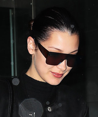 Bella Hadid Shows How to Do FlaredJeans