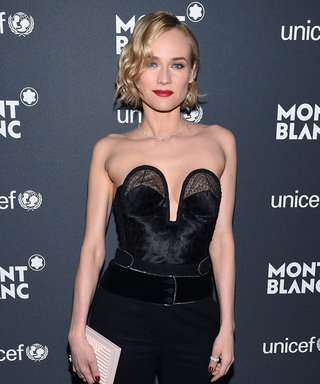 Diane Kruger's Bustier Is the Stuff of Fashion Dreams