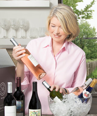 Eat AND Drink Like Martha Stewart Thanks to Her New Wine Collection
