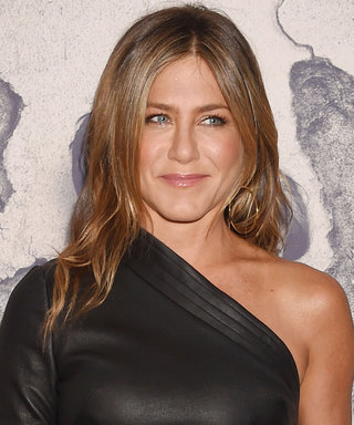 Jennifer Aniston's Asymmetrical LBD Hugs Her Figure in Just the Right Ways