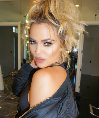 Khloé Kardashian Goes for It, Pairing Sweats with Lingerie