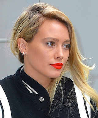 Hilary Duff Just Made Us Really Want a Pair of White Leather Boots