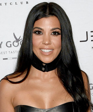 Kourtney Kardashian Rocks Next-Level Underboob in Plunging Bikini
