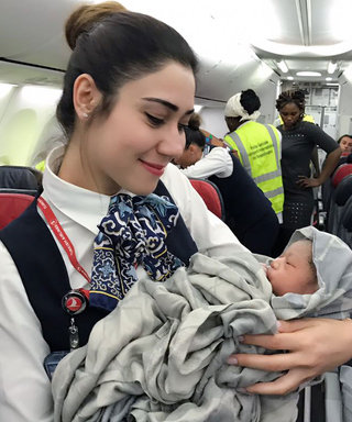 These Hero Flight Attendants Helped Deliver a Baby Mid-Flight