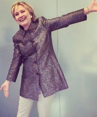 "Hillary Clinton Models Katy Perry's ""Hillary"" Shoe Design"