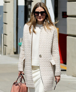 Only Olivia Palermo Could Make a Sweatshirt & Sneakers Look This Chic