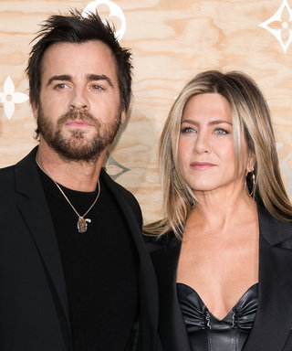 Jennifer Aniston and Justin Theroux Slay in Date Night Leather Looks