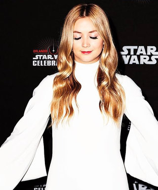 Billie Lourd Honors Mom Carrie Fisher Dressed as Princess Leia