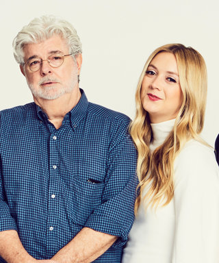 Billie Lourd Stands in for Mom Carrie Fisher for a Star Wars Reunion Photo