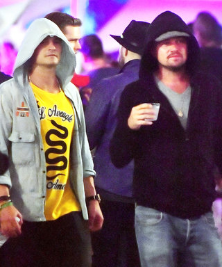 Leonardo DiCaprio & Orlando Bloom Go Undercover Hanging Out at Coachella