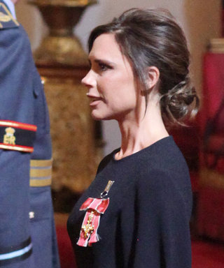 Prince William Presents Victoria Beckham with a Fancy British Honor