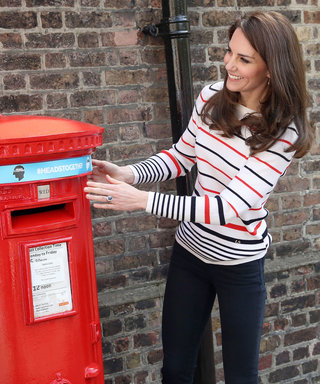 Why Is Kate Middleton Putting a Headband on Her Mailbox?