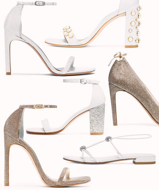 Stuart Weitzman's Bridal Shoe Collection Is What Wedding Dreams Are Made Of