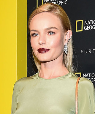 Kate Bosworth Gets Vampy With Her Evening Look