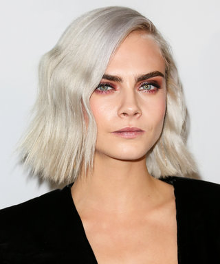 Cara Delevingne Has Yet Another New Pastel Hair Color