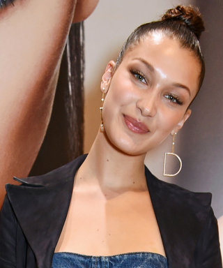 Bella Hadid Wears Denim on Denim on Suede