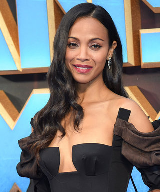 Zoe Saldana's Dress Is a SERIOUS Must-See