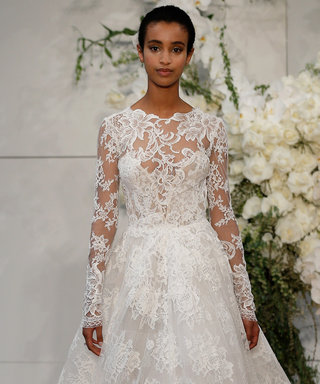 The Prettiest Long-Sleeve Wedding Dresses at Bridal Fashion Week