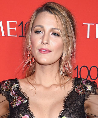 Blake Lively Wears Rainbow Fringe, Is a Fashion Goddess