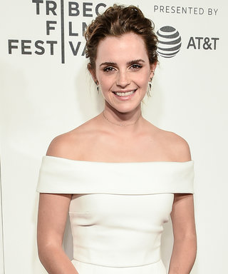 Emma Watson Is a Vision in White at Tribeca Film Festival