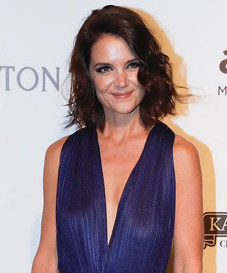 Katie Holmes and Kate Moss Go Seriously Glam for the amfAR Gala São Paulo