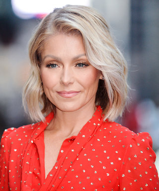 Kelly Ripa Won #TBT With This Hilarious Snap