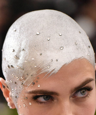 The Story Behind Cara's Silver Buzz-Cut
