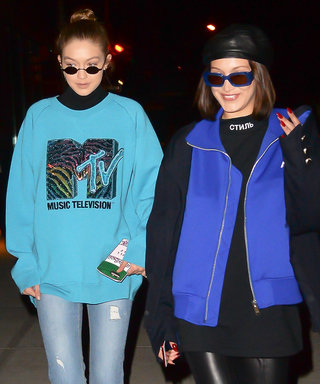 Gigi and Bella Hadid Are Channeling '90s TV Characters Now