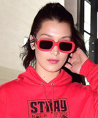 Bella Hadid Makes the Case for All Red Everything