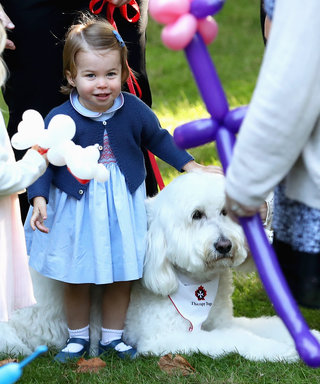 Princess Charlotte Is Queen Elizabeth's Ultimate Mini-Me