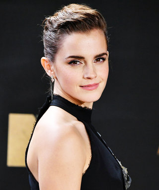Emma Watson Wore the Coolest Ponytail to the MTV Movie & TV Awards